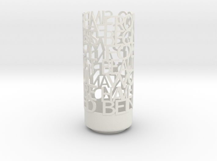 Light Poem Darwin 3d printed