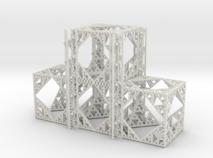 Beta Cube Staircase 3d printed