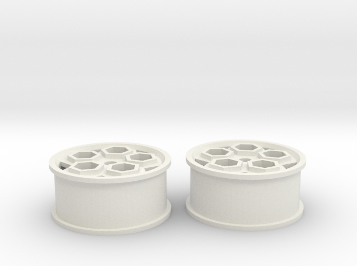 final white roller2 3d printed