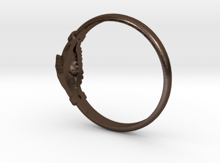 wedding ring Saint Rita of Cascia 3d printed