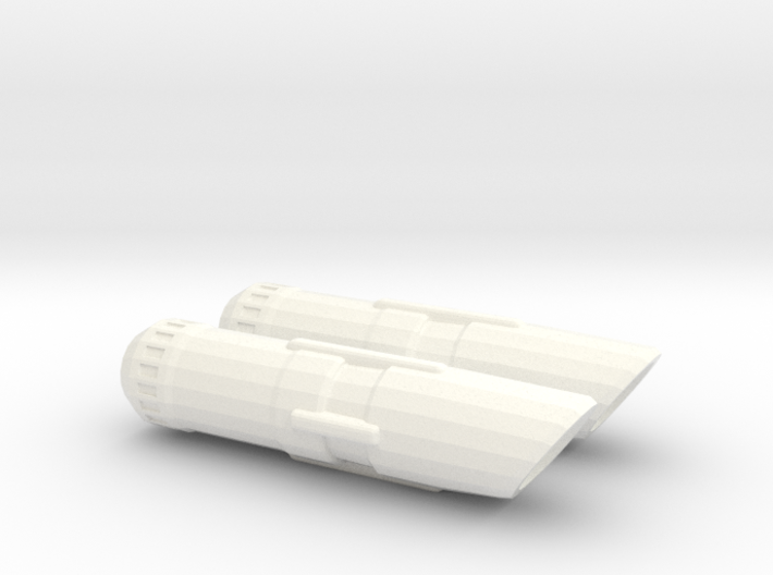 Dual Nacelle 3d printed