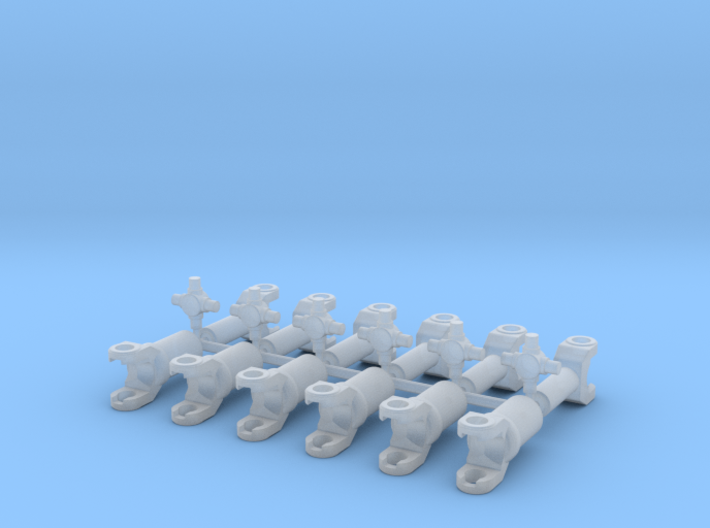 1/12 3 pack drive shaft universal kits 3d printed