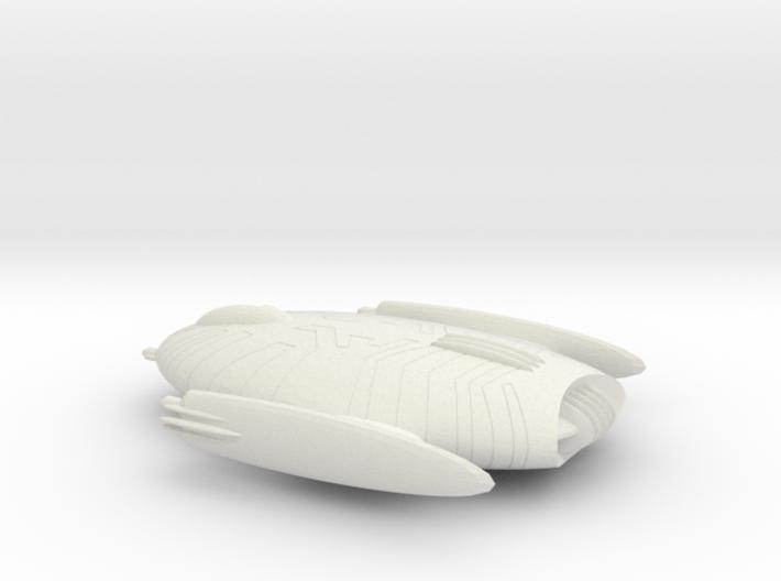 Starship 001 C 3d printed