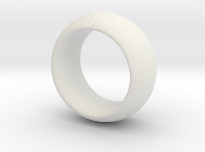 sinoidring hexagonal texture large 3d printed