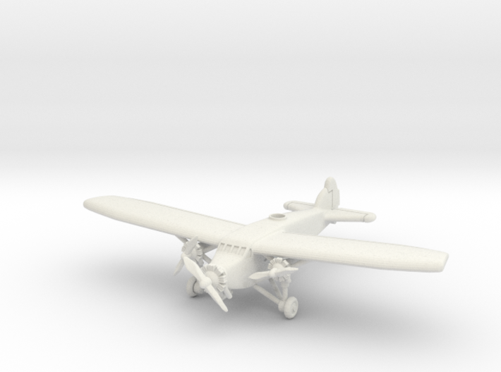 Caproni Ca.101 1/285 6mm 3d printed