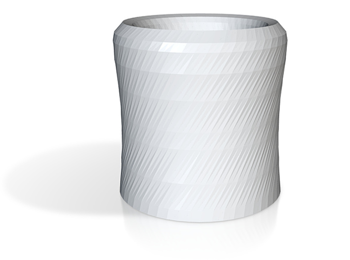 Foldover Insulated Cup 3d printed