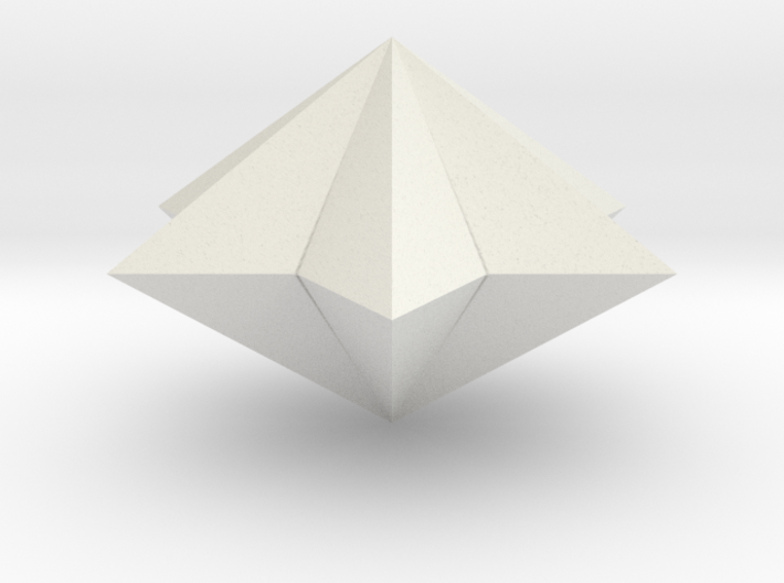 pyramid 6star closed 3d printed