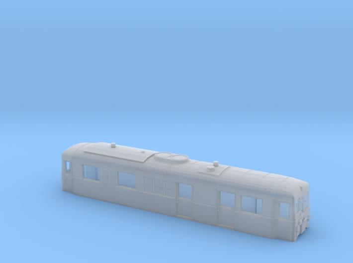 Schmalspurtriebwagen T3 der HSB (1:120) 3d printed