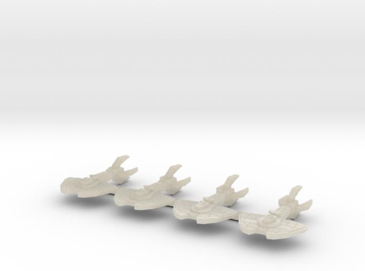 4 x roslin sprue 3d printed