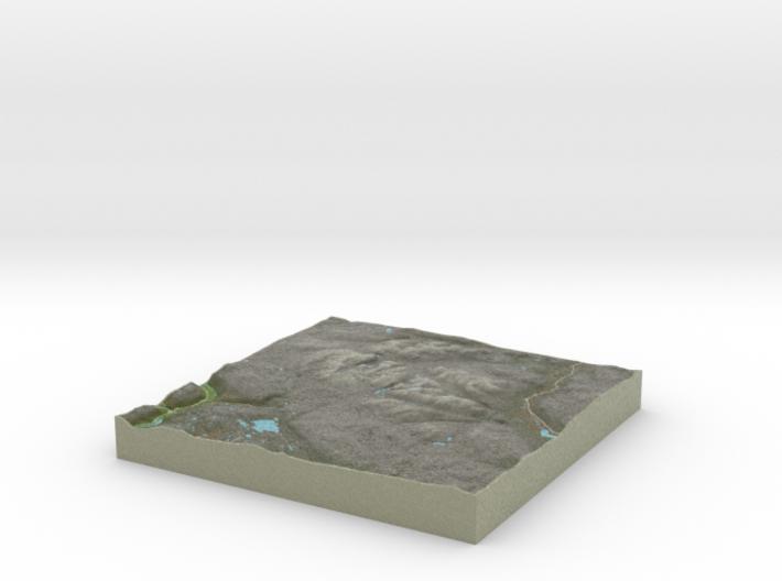 Terrafab generated model Sat Jan 11 2014 12:32:46 3d printed