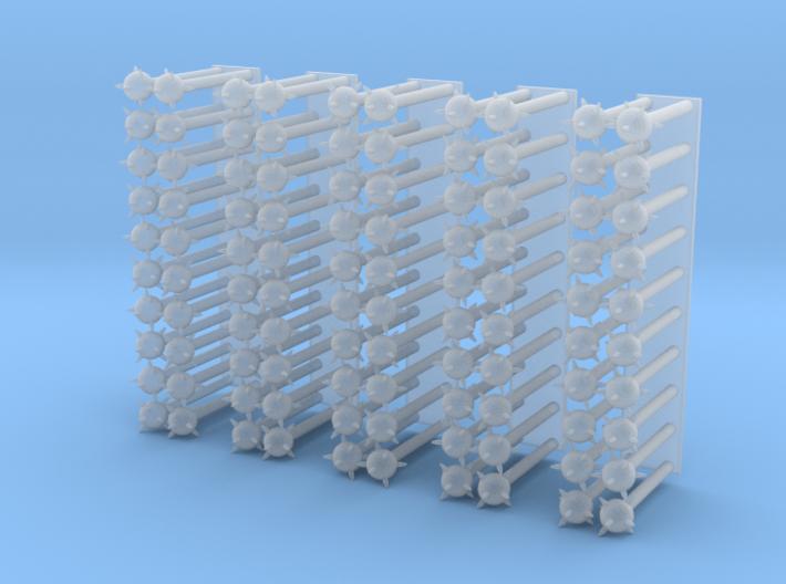 Sea or Space Mines 3d printed