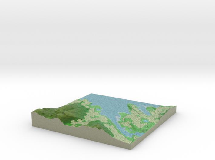 Terrafab generated model Tue Jan 14 2014 18:24:23 3d printed