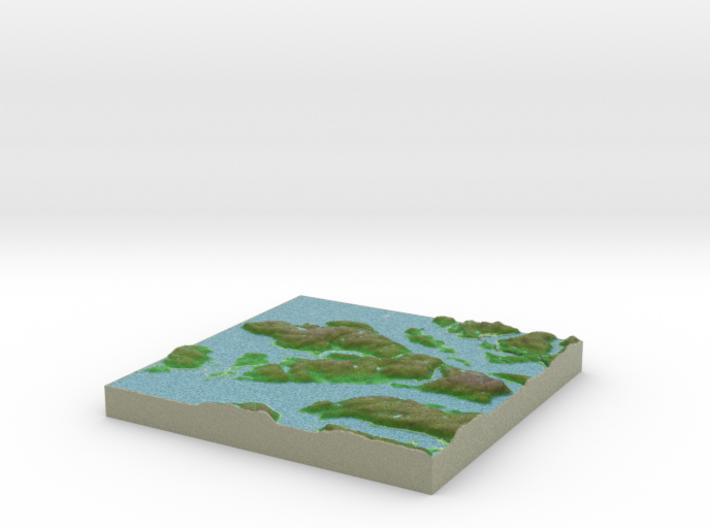Terrafab generated model Tue Jan 21 2014 22:35:48 3d printed