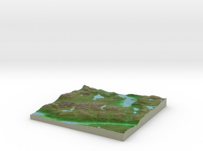 Terrafab generated model Wed Jan 15 2014 17:16:28 3d printed
