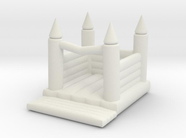 Hüpfburg / Bouncing Castle 1:160 3d printed