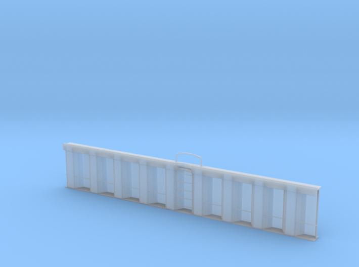 06.002.001_Kanalspundwand mit Ausstieg 3d printed