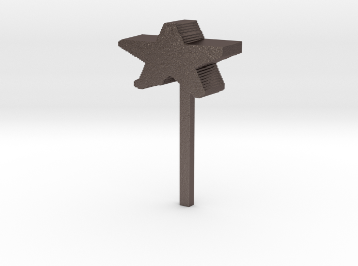 christmas tree topper 3d printed