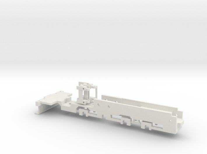 MDC Old Time 2-8-0 Frame 3d printed