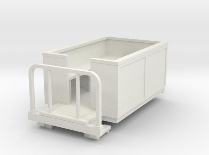 Sn2 Short open coach 3d printed