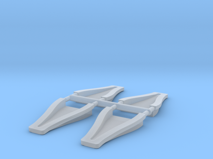 1/12 scale 3 inch NACA ducts 3d printed