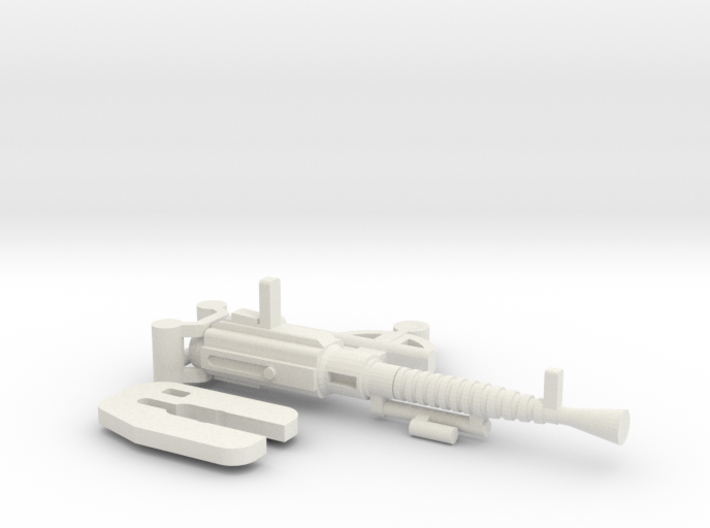 DS 39 Machine Gun 3d printed
