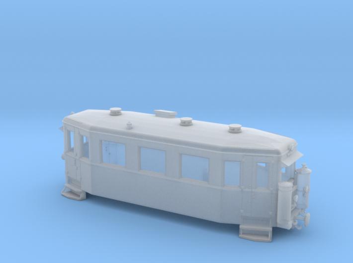 T6 / T7 der MEG mit Imbert-Holzgas-Anlage (1:120) 3d printed