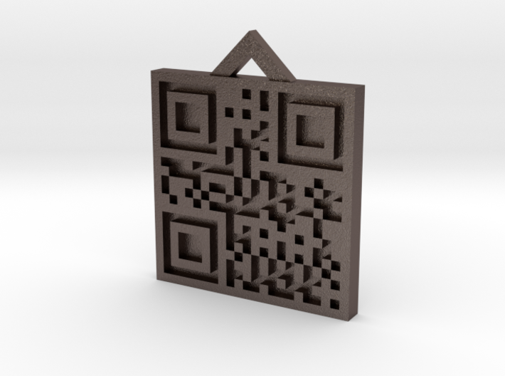 QRCode -- 430 3d printed