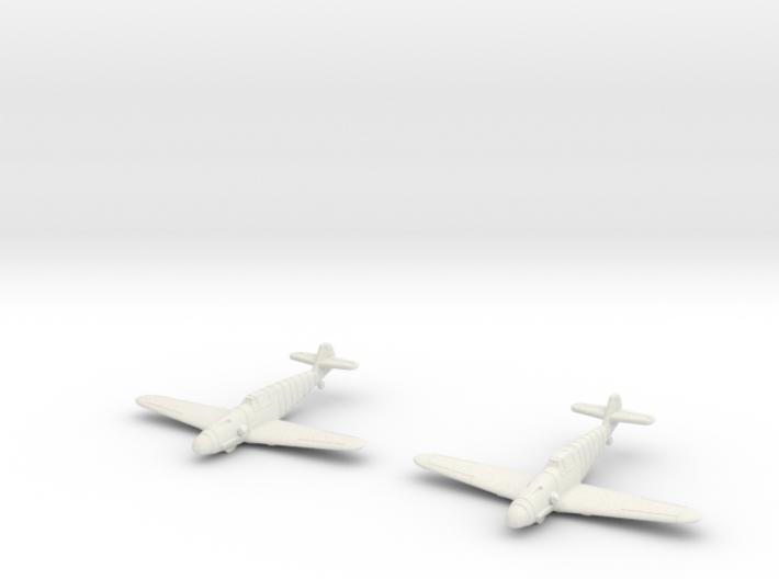 1/200 Messerschmitt BF-109F (x2) 3d printed