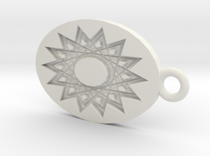 Mandala Shadow 3d printed