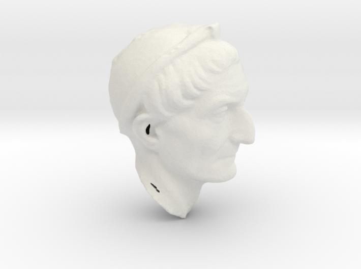 PriestBust2cm 3d printed