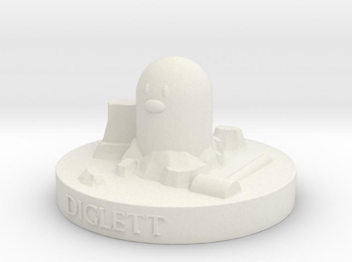 Diglett 3d printed