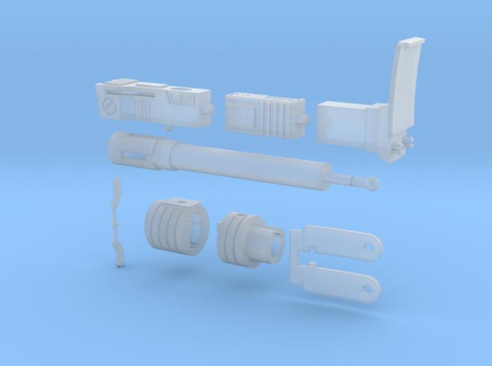 WST Megatron Set 3d printed
