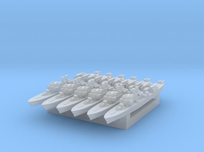 Marne 1:4800 x6 3d printed