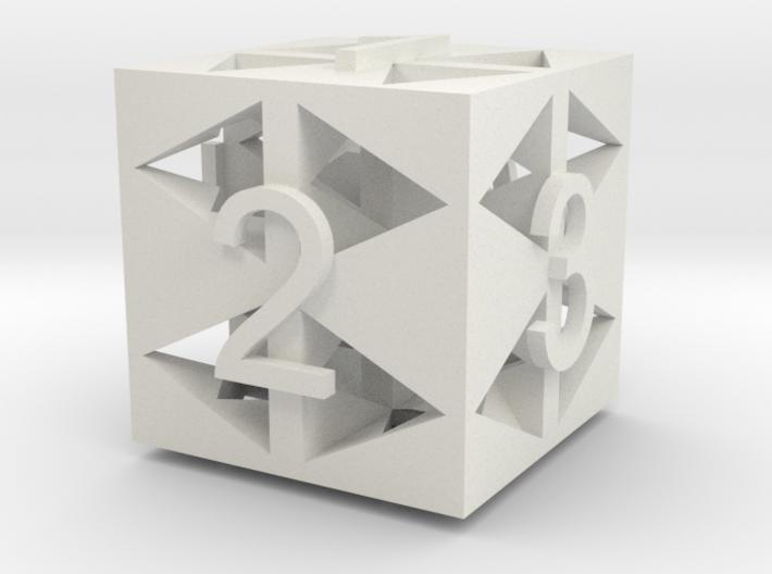 Triangle Die 3d printed