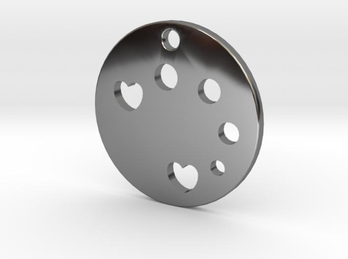 Love Disk v1 3d printed