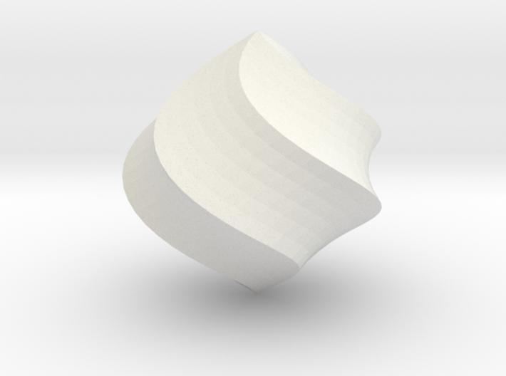 Cream 3d printed