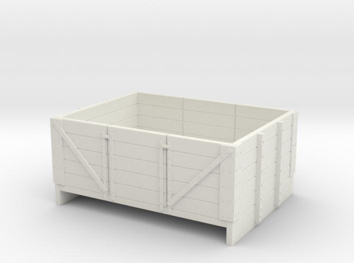 Sn2 5 plank open coal wagon 3d printed