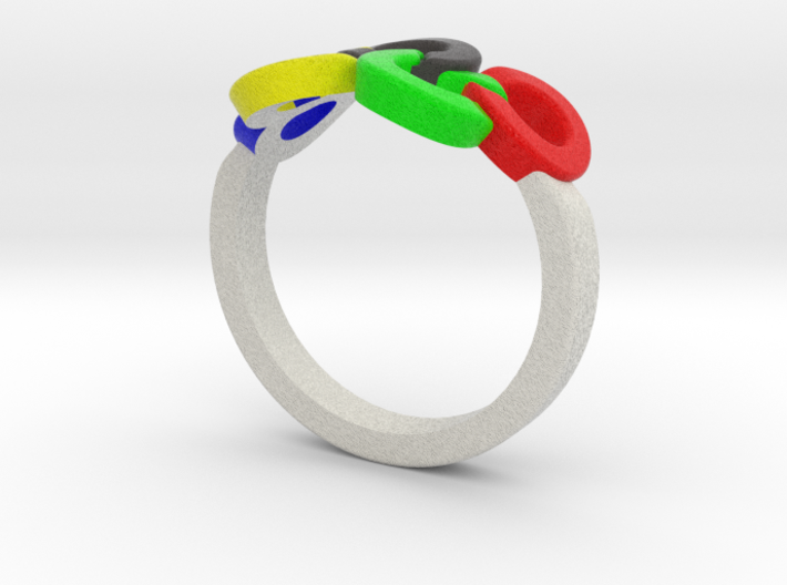 Olympic Ring-sz19 3d printed