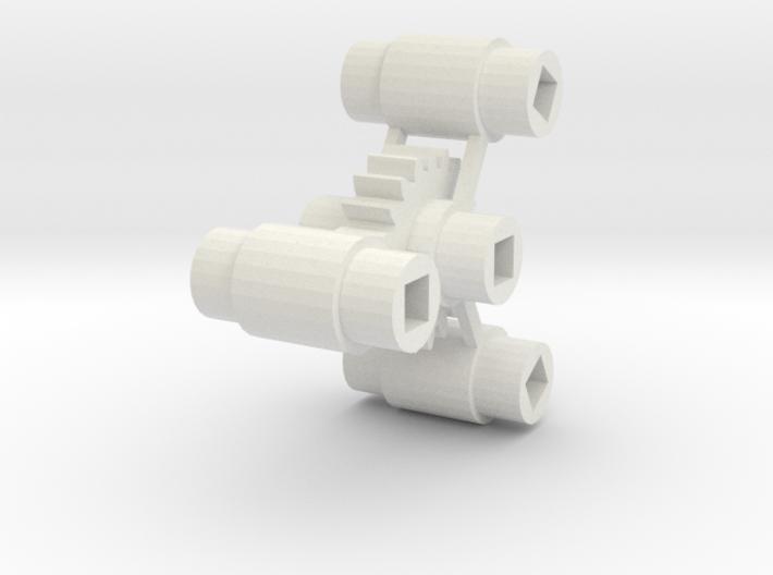 Bachmann HO 4-8-4 Axle Centers 3d printed