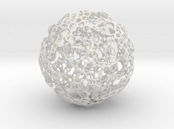 Linked Voronoi - Large 3d printed