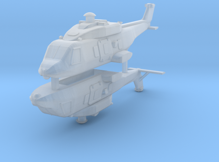 Eurocopter NH90 1:350 x2 3d printed