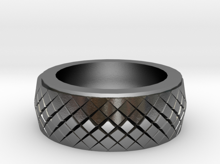 Serpent Ring 20x20 Mm 3d printed