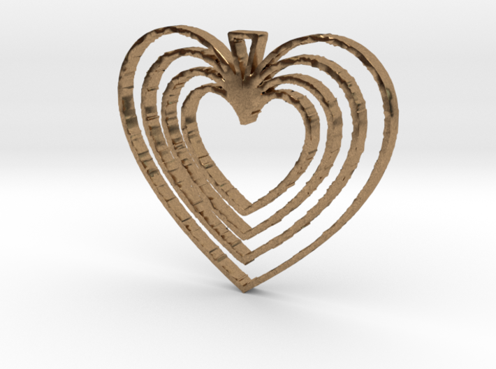 Hearts Go On 3d printed