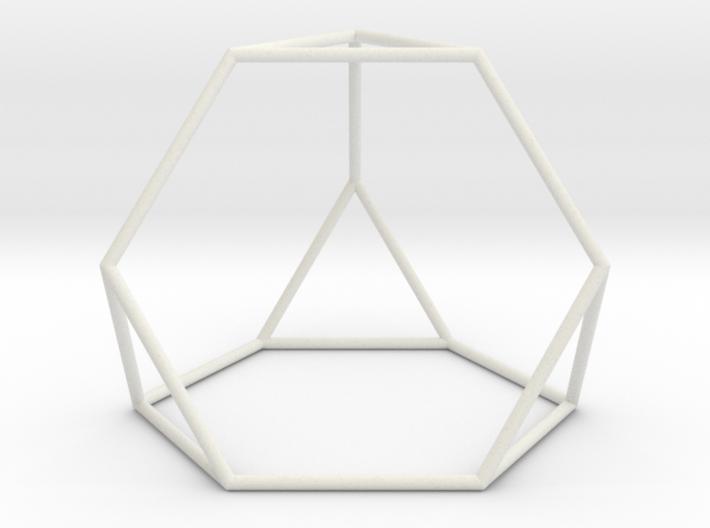 TruncatedTetrahedron 100mm 3d printed