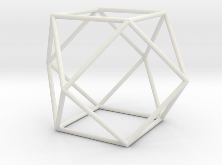 Cuboctahedron 100mm 3d printed