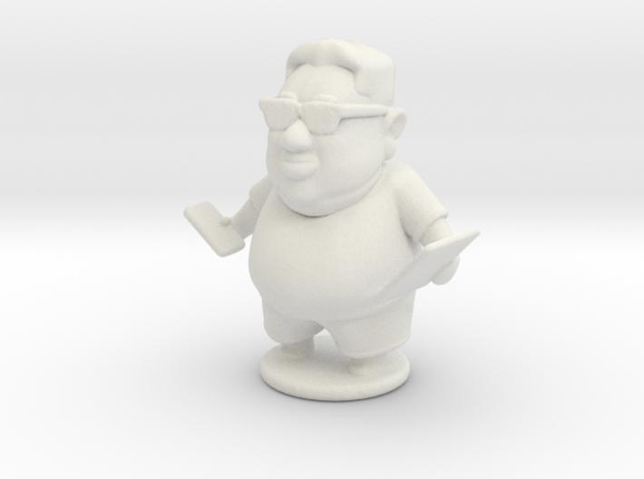 IT Guy 3d printed