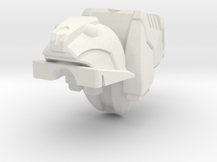 roadbuster head assembley mk2 3d printed
