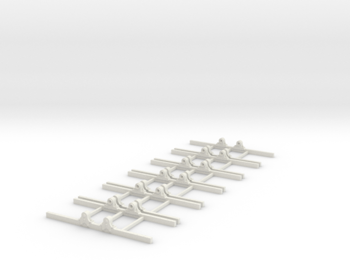 Sn2 Underframe type B 2ft 8 wb x6 3d printed