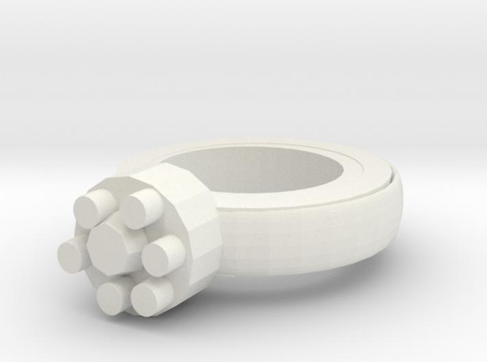 Thin Walls Fixed Ring 20x20mm More Printable 3d printed