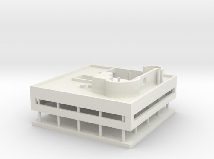 Villa Savoye 3d printed